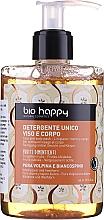 Parfums et Produits cosmétiques Gel nettoyant aux extraits de poire et aubépine pour visage et corps - Bio Happy Volpina, Pear & Hawthorn Face & Body Wash