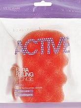 Parfums et Produits cosmétiques Eponge de bain exfoliante, Orange - Suavipiel Active Esponja Extra Peeling