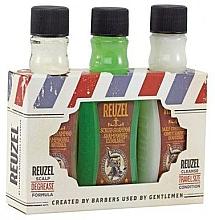 Parfums et Produits cosmétiques Reuzel Degrease Trio Kit - Set (shampooing/100ml + shampooing/100ml + après-shampooing/100ml)