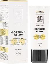 Parfums et Produits cosmétiques Masque de nuit à la vitamine C - FlosLek Skin Care Expert Sphere-3D Morning Glow