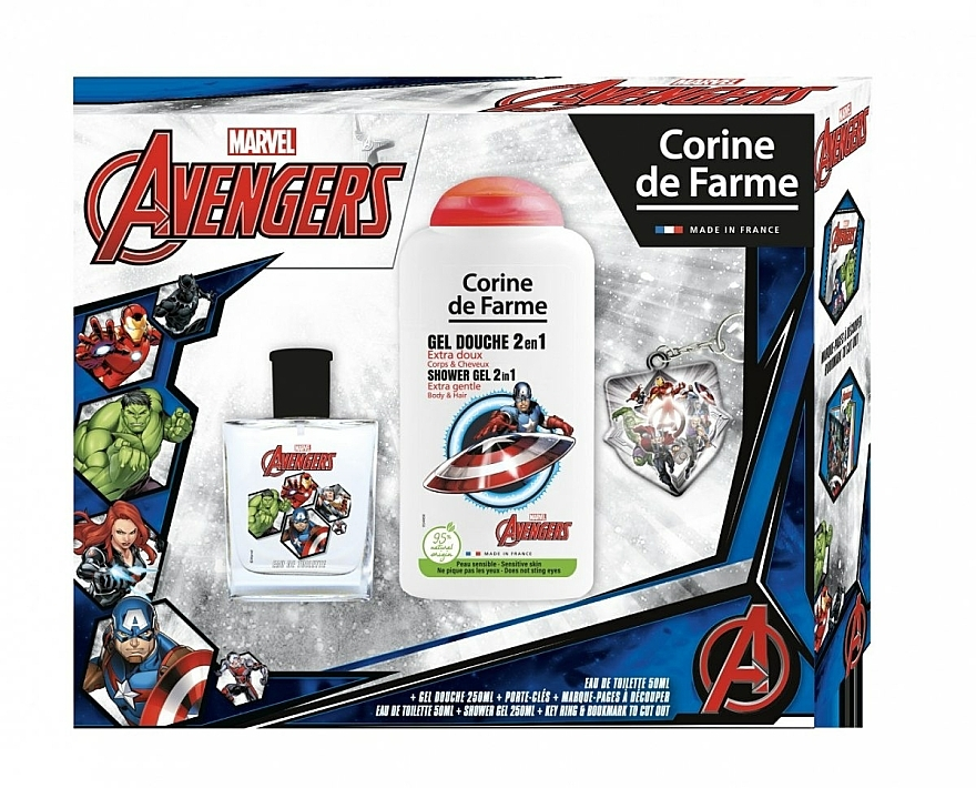Marvel The Avengers - Set (eau de toilette/50ml + gel douche/250ml)