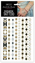 Parfums et Produits cosmétiques Tatouages éphémères effet métallique Ornaments 2 - Art Look