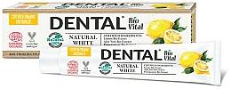 Parfums et Produits cosmétiques Dentifrice à l'extrait de citron bio - Dental Bio Vital Natural White Toothpaste