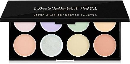 Palette de correcteurs pour visage - Makeup Revolution Ultra Base Corrector Palette