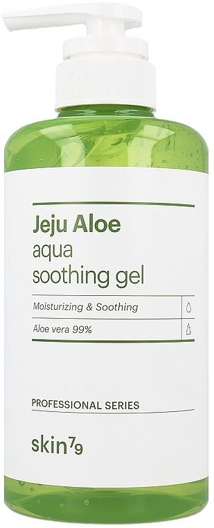 Gel apaisant pour visage, corps et cheveux - Skin79 Jeju Aloe Aqua Soothing Gel