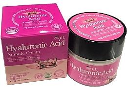 Parfums et Produits cosmétiques Crème à l'acide hyaluronique pour visage - Ekel Hyaluronic Acid Ampule Cream