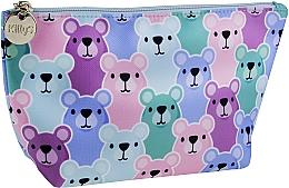 Parfums et Produits cosmétiques Trousse de toilette, ours en peluche, multicolore - KillyS