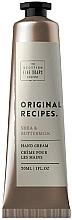 Parfums et Produits cosmétiques Crème au beurre de karité pour mains - Scottish Fine Soaps Original Recipes Shea & Buttermilk Hand Cream