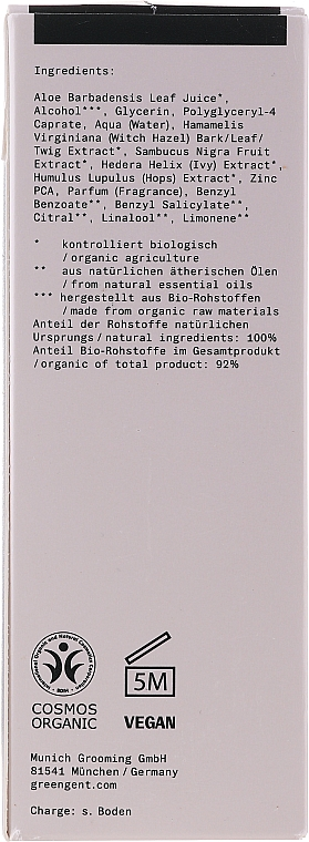 Lotion tonique - Green + The Gent Face Tonic — Photo N2