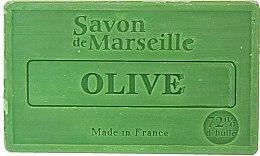 Parfums et Produits cosmétiques Savon de Marseille à l'olive - Le Chatelard 1802 Soap Olive