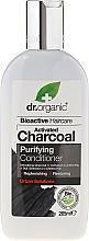 Parfums et Produits cosmétiques Après-shampooing au charbon activé - Dr. Organic Bioactive Haircare Activated Charcoal Conditioner
