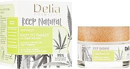 Parfums et Produits cosmétiques Crème de jour et nuit à l'huile de chanvre - Delia Cosmetics Keep Natural Nourishing Cream