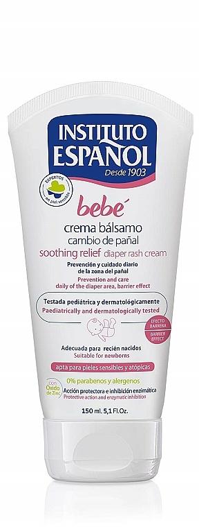 Crème de change hypoallergénique - Instituto Espanol Bebe Sootthing Relief Diaper Rash Cream — Photo N2