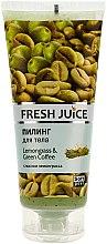 Parfums et Produits cosmétiques Gommage corporel à la citronnelle et café vert - Fresh Juice Lemongrass Green Coffee