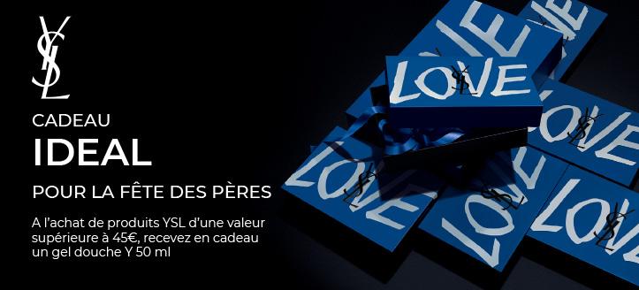 A l'achat de produits Yves Saint Laurent d'une valeur supérieure à 45 €, recevez en cadeau un gel douche Y 50 ml