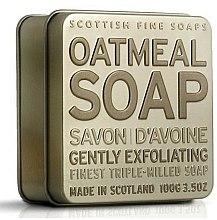 Parfums et Produits cosmétiques Savon aux flocons d'avoine en boîte métallique - Scottish Fine Soaps Oatmeal Soap In A Tin
