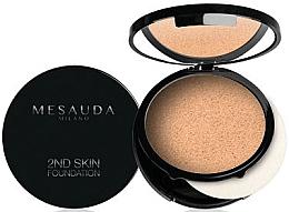 Parfums et Produits cosmétiques Fond de teint compact, crème poudre - Mesauda Milano 2ND Skin Foundation