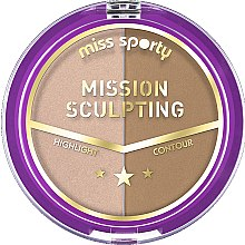Parfums et Produits cosmétiques Enlumineur et contouring - Miss Sporty Mission Sculpting