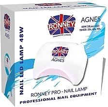 Parfums et Produits cosmétiques Lampe LED, blanc - Ronney Profesional Agnes Pro LED 48W (GY-LED-032)