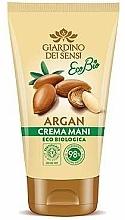 Parfums et Produits cosmétiques Crème à l'huile d'argan pour mains - Giardino Dei Sensi Eco Bio Argan Hand Cream