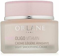 Parfums et Produits cosmétiques Crème lissante pour visage - Orlane Oligo Vitamin Light Smoothing Cream