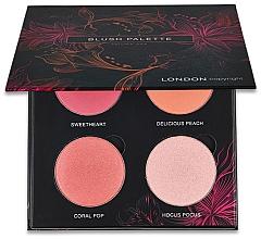 Parfums et Produits cosmétiques Palette professionnelle de blush - London Copyright Magnetic Face Powder Blush Palette