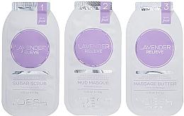 Parfums et Produits cosmétiques Soin en 3 étapes à la lavande pour mains et ongles - Voesh Mani In A Box Waterless 3 Step Lavander Relieve