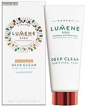 Parfums et Produits cosmétiques Masque à l'extrait d'écorce de pin et canneberges pour visage - Lumene Sisu Expert Deep Clean Purifying Mask