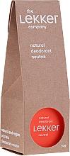 Parfums et Produits cosmétiques Déodorant crème naturel sans parfum - The Lekker Company Natural Deodorant Neutral