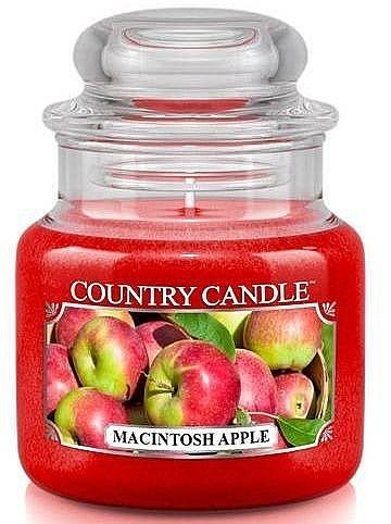 Bougie parfumée en jarre, Pomme McIntosh - Country Candle Macintosh Apple — Photo N1