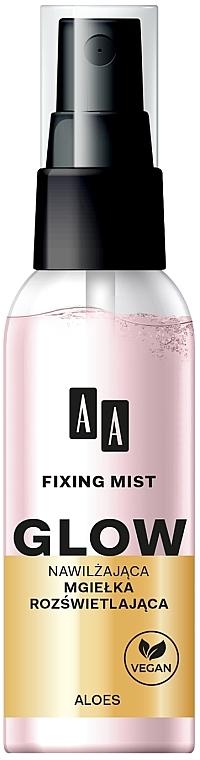 Brume fixatrice de maquillage - AA Fixing Mist Glow
