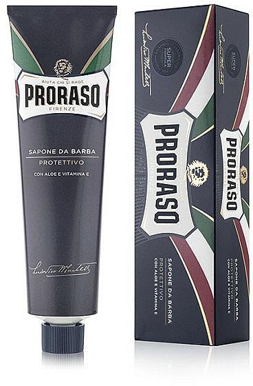 Crème à raser à l'aloe vera et vitamine E - Proraso Blue Line Shaving Cream Super Formula