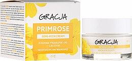 Parfums et Produits cosmétiques Crème de jour et nuit à l'huile d'onagre et calcium - Gracja Semi-oily Cream With Evening Primrose