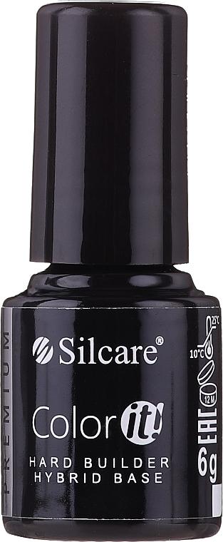 Base coat pour vernis semi-permanent - Silcare Color It Premium Hard Builder Hybrid Base