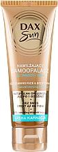 Parfums et Produits cosmétiques Autobronzant au béta-carotène pour visage et corps - DAX Sun Extra Bronze Self-Tanning Cream