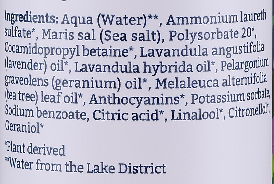 Gel douche à l'huile de lavande et de geranium - Faith in Nature Lavender & Geranium Body Wash — Photo N3
