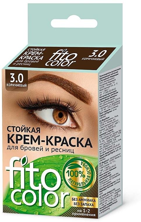 Fito Kosmetik FitoColor - Crème colorante pour sourcils et cils