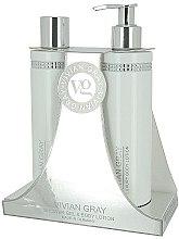 Parfums et Produits cosmétiques Set corps - Vivian Gray White Crystals Set (gel douche/250ml + lotion corporelle/250ml)