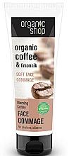 Parfums et Produits cosmétiques Gommage au café et citronnelle pour visage - Organic Shop Gommage Face