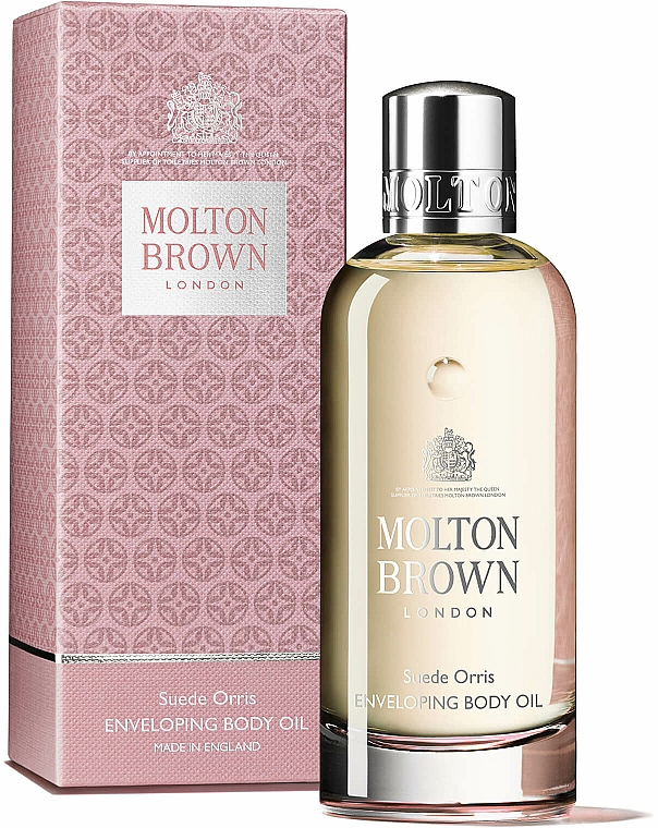 Molton Brown Suede Orris Enveloping Body Oil - Huile pour corps — Photo N2
