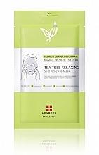 Parfums et Produits cosmétiques Masque tissu relaxant à l'huile de feuille de théier pour visage - Leaders Tea Tree Relaxing Skin Renewal Mask