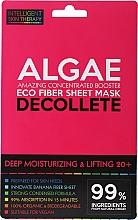 Parfums et Produits cosmétiques Masque tissu aux algues pour décolleté - Beauty Face IST Deep Moisturizing & Lifting Decolette Mask Algae