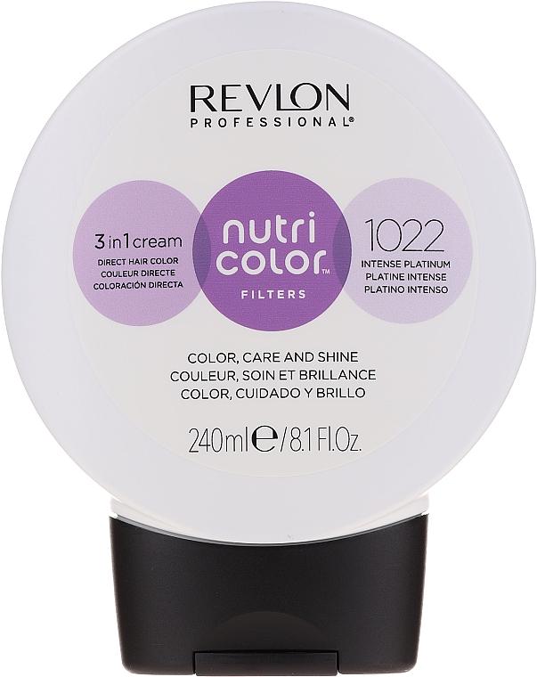 Crème coloration directe pour cheveux 240 ml - Revlon Professional Nutri Color Filters