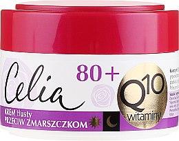 Parfums et Produits cosmétiques Crème de jour et nuit à la coenzyme Q10 et vitamines - Celia Q10 Face Cream 80+