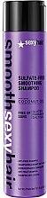 Parfums et Produits cosmétiques Shampooing à l'huile de noix de coco - SexyHair SmoothSexyHair Anti-Frizz Shampoo