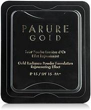 Parfums et Produits cosmétiques Fond de teint en poudre effet rajeunissant - Guerlain Parure Gold Compact Powder Foundation Refill SPF15