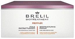 Parfums et Produits cosmétiques Ampoules régénérantes pour cheveux traités chimiquement - Brelil Bio Treatment Repair Phials