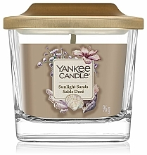 Parfums et Produits cosmétiques Bougie parfumée, Sables doré - Yankee Candle Elevation Sunlight Sands