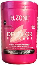 Parfums et Produits cosmétiques Poudre décolorante pour cheveux - H.Zone Decolor Extreme
