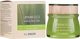 Parfums et Produits cosmétiques Crème rafraîchissante au lin de Nouvelle-Zélande pour visage - The Saem Urban Eco Harakeke Fresh Cream